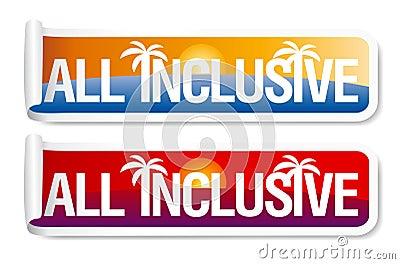 All inclusive labels.