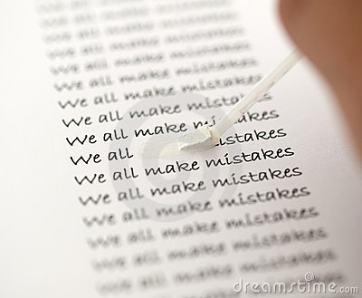 We all make mistakes 2