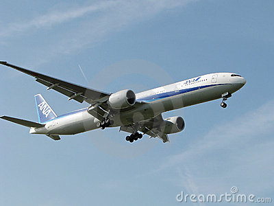 All Nippon airways Editorial Stock Image