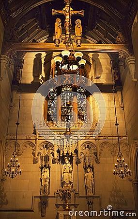 All Saints Chapel Trinity Church New York City Royalty