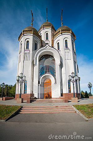 All Saints Church in Russia