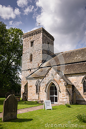 Free All Saints Church-Village Of Hovingham Stock Images - 52847684