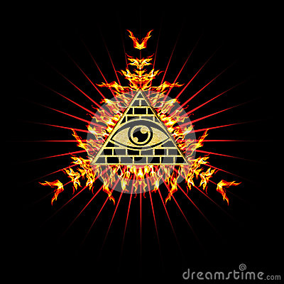 Free All Seeing Eye - Eye Of Providence Royalty Free Stock Photo - 29725775