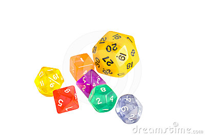 All-shapes dice