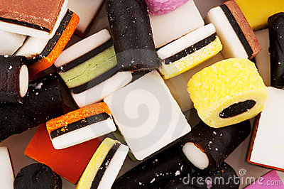 All sort licorice