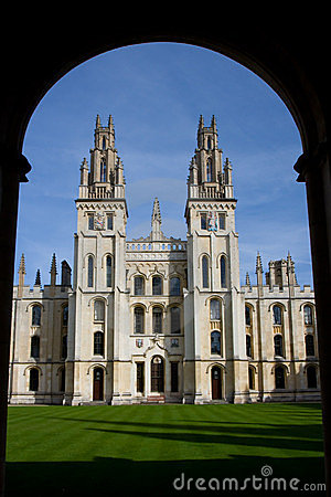 Free All Souls College, Oxford Stock Photography - 8654942