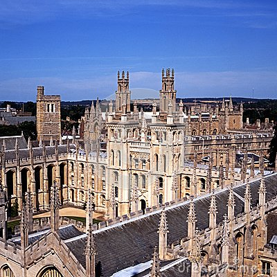 All Souls College, Oxford, England.