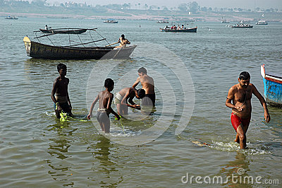 Allahabad Sangam Editorial Photo