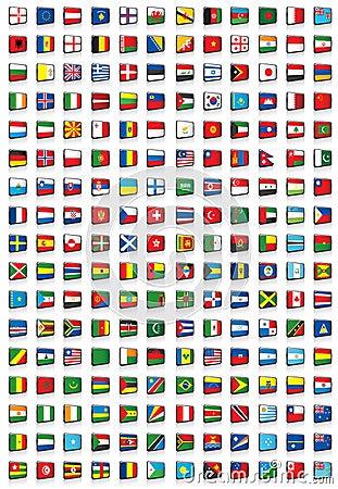 Alle wereldvlaggen