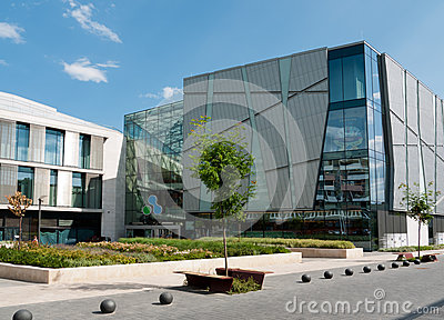 Allee shopping mall, Budapest Editorial Photo