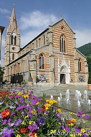 Allevard Place & Church