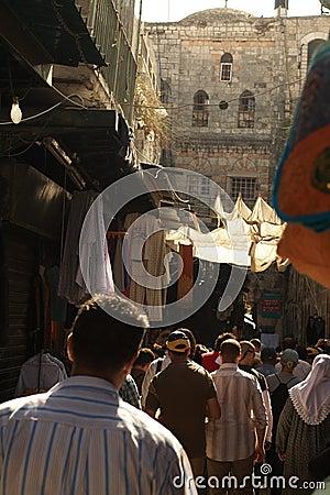 Alley in Jerusalem, Israel