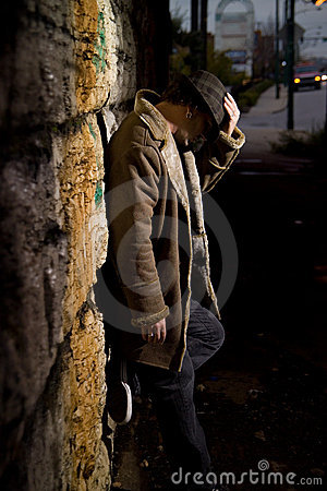 Free Alley Man Stock Photo - 1492830