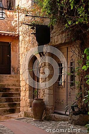 Alley in an old village