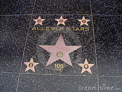 Alley of stars