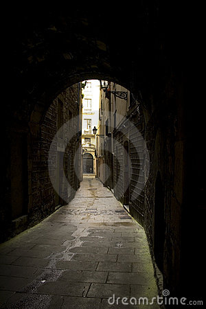 Free Alleyway Royalty Free Stock Photo - 4819415