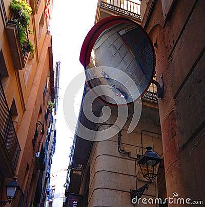 Free Alleyway Between Buildings Royalty Free Stock Photo - 3583575
