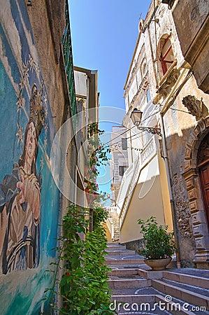 Free Alleyway. Diamante. Calabria. Italy. Stock Photos - 27826323