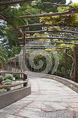 Free Alleyway In Capri Royalty Free Stock Images - 19552479
