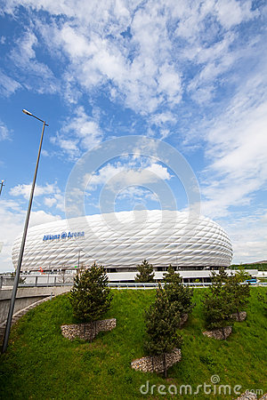 Allianz Arena Editorial Stock Image