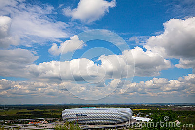 Allianz Arena Editorial Photo