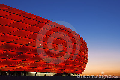 Allianz Arena Munich Editorial Photography