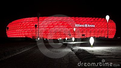 Allianz Arena in Munich Germany Editorial Stock Image