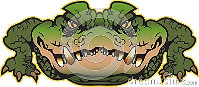 Alligator Vector Illustration