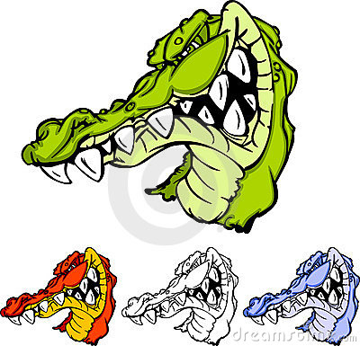 Alligator / Gator Head Logo