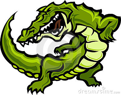 Alligator / Gator Mascot Vector Illustration