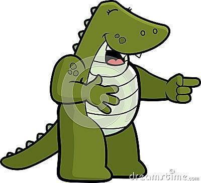 Alligator Laughing