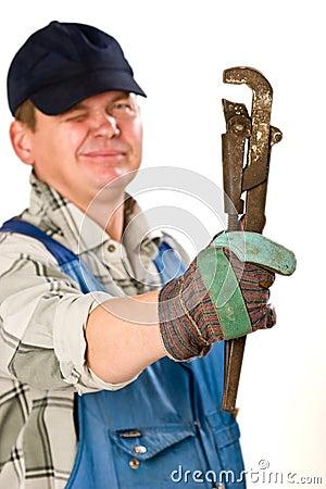 Alligator wrench