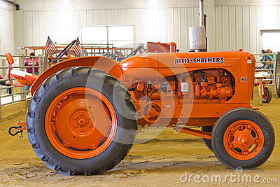 Allis-Chalmers Model WF Farm Tractor Editorial Stock Photo
