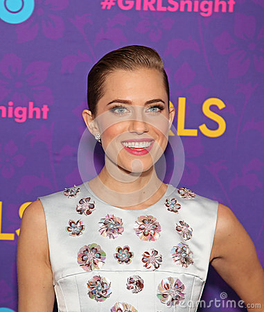 Allison Williams Editorial Stock Photo