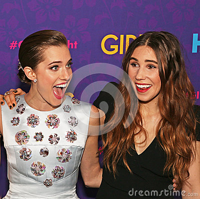 Allison Williams and Zosia Mamet Editorial Stock Image