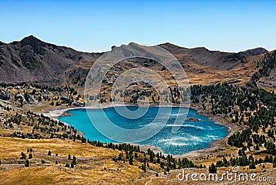 Allos jezioro (Lac d Allos)