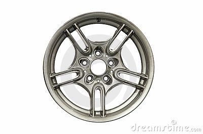 Alloy car rim