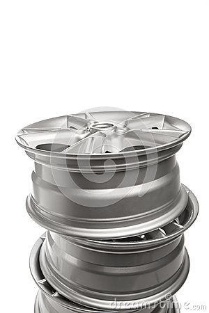 Alloy wheels stack