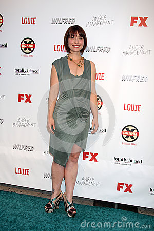 Allson Mack arrives at the FX Summer Comedies Party Editorial Stock Image
