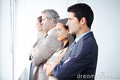Alltid söka efter nya affärstillfällen