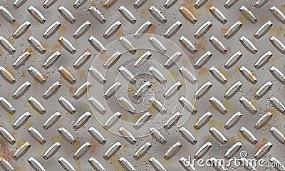 Alluminium plateado de metal