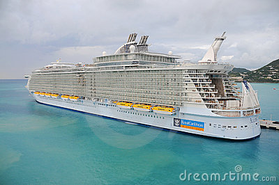 Allure of the seas cruise ship Editorial Photo