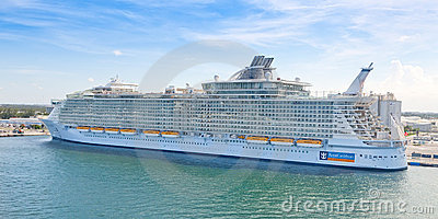 Allure of the Seas in Ft. Lauderdale Editorial Image