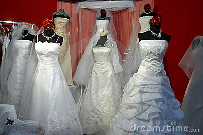 Almacén de la alineada de bodas