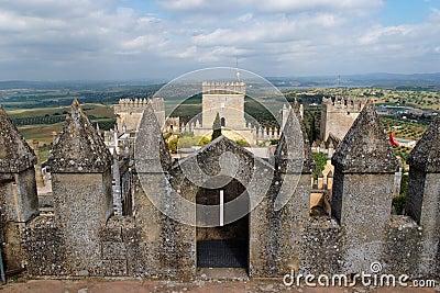 Almodovar Del Rio medieval castle in Spain