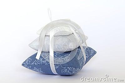 Almohadillas de la lavanda