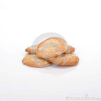 Free Almond Biscuits Royalty Free Stock Photography - 25764557