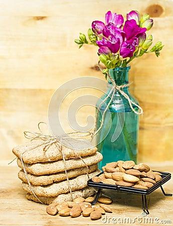 Almond flour biscuits