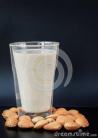 Free Almond Milk Stock Photo - 64348670