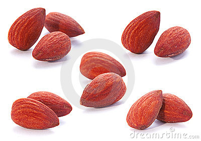 Almond nut fruit set